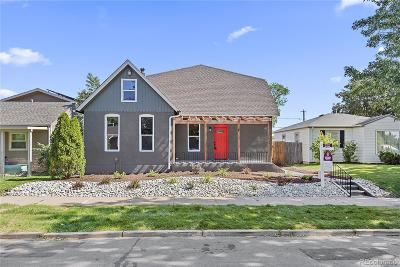 Single Family Home Active: 4920 Perry Street