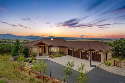 Castle Rock Single Family Home Active: 3560 Medallion Road