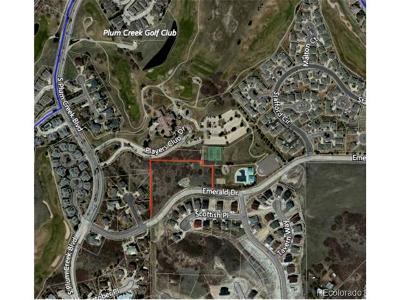 Plum Creek, Plum Creek Fairway, Plum Creek South Residential Lots & Land Active: Emerald Drive