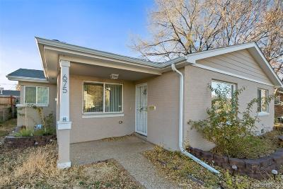 Denver Single Family Home Under Contract: 675 South Alcott Street