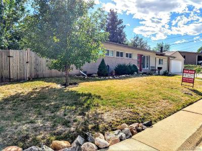 Arvada CO Single Family Home Active: $345,000
