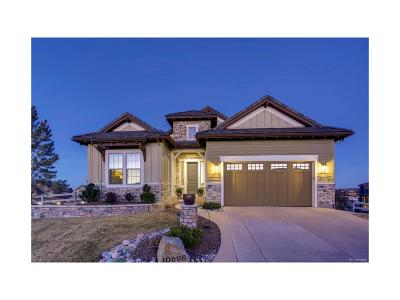 Highlands Ranch Single Family Home Active: 10698 Mountaingate Court