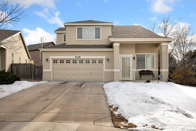 Aurora Single Family Home Under Contract: 20408 East Milan Place