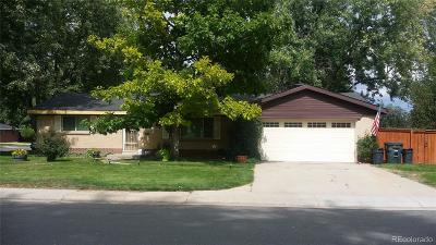 Lakewood Single Family Home Under Contract: 5481 West Cedar Avenue