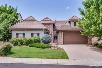 Lone Tree Single Family Home Under Contract: 9715 Sunset Hill Circle
