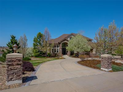 Castle Pines Single Family Home Active: 8757 Ridgepointe Drive