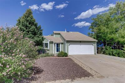 Centennial Single Family Home Under Contract: 19977 East Wagontrail Drive