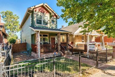 Denver Single Family Home Active: 3932 Tejon Street