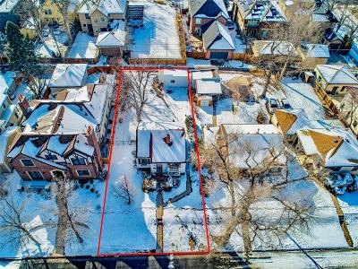 Denver Residential Lots & Land Under Contract: 1429 South Clayton Street