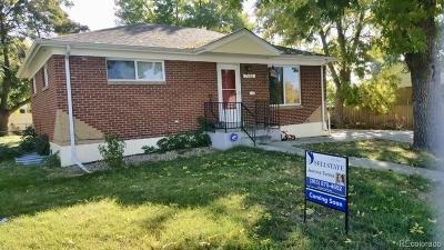 Denver Single Family Home Active: 7166 Joan Street