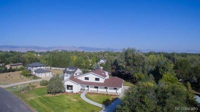 Niwot Single Family Home Active: 8063 Meadowlake Road