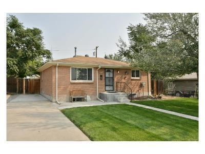 Denver Single Family Home Under Contract: 7926 Grace Court