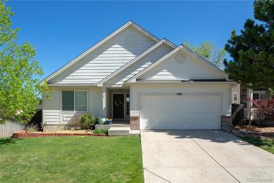 Castle Rock Single Family Home Under Contract: 5401 Spruce Avenue