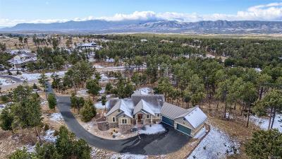 Colorado Springs Single Family Home Active: 5080 Saxton Hollow Road