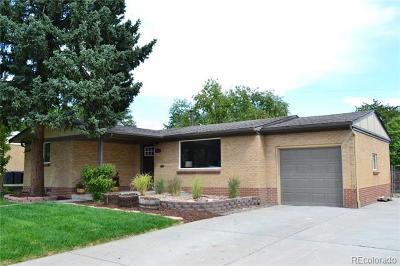 Arvada Single Family Home Active: 5120 Jellison Street