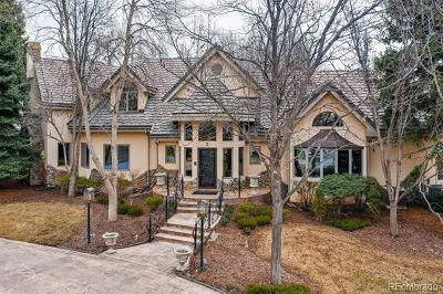 Englewood CO Single Family Home Active: $3,200,000
