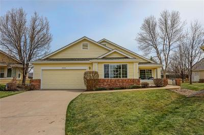 Wheat Ridge Single Family Home Under Contract: 3882 Lee Circle