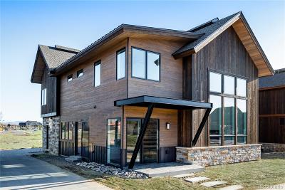 Steamboat Springs Single Family Home Active: 915 Twilight Lane