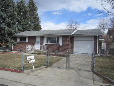 Arvada Single Family Home Active: 7664 Newland Street
