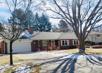Denver Single Family Home Active: 260 Kearney Street