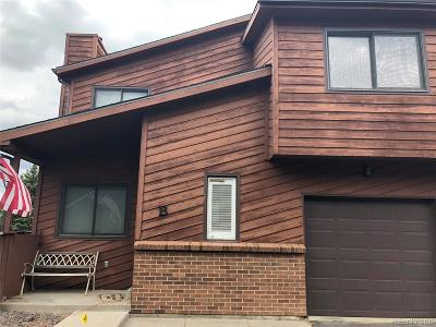 Lakewood Condo/Townhouse Under Contract: 10210 West Jewell Avenue #B
