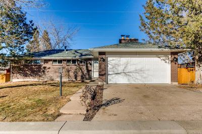 Centennial Single Family Home Active: 3139 East Caley Avenue