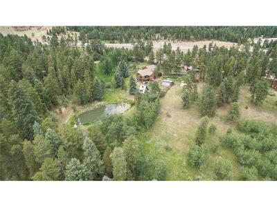 Conifer Single Family Home Under Contract: 27734 Fawn Drive