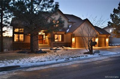 Castle Pines Village Single Family Home Active: 834 Good Hope Drive