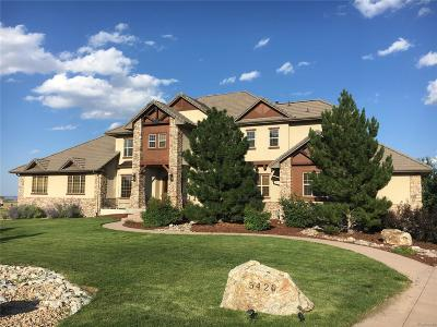 Castle Rock CO Single Family Home Active: $1,349,000