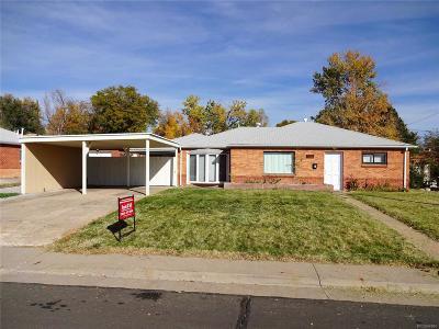 Thornton Single Family Home Active: 1031 East 91st Avenue