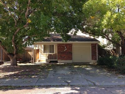 Northglenn Single Family Home Under Contract: 11791 Lincoln Street