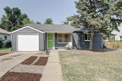 Denver Single Family Home Active: 4915 Bryant Street