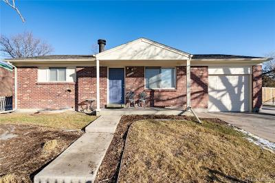 Denver Single Family Home Active: 5504 Tulsa Way
