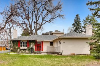 Denver Single Family Home Active: 748 Magnolia Street