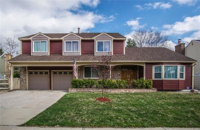 Littleton Single Family Home Active: 10565 Sundance Mountain