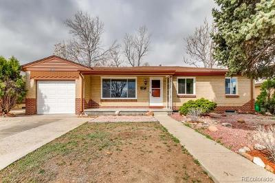 Lakewood CO Single Family Home Active: $405,000