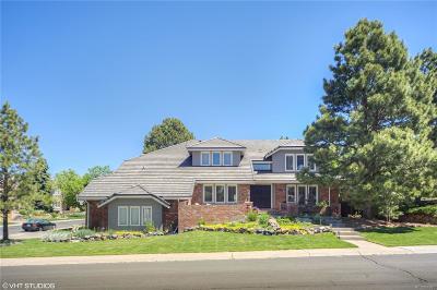 Centennial Single Family Home Active: 5313 East Otero Drive