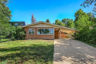 Wheat Ridge Single Family Home Under Contract: 5665 West 27th Avenue