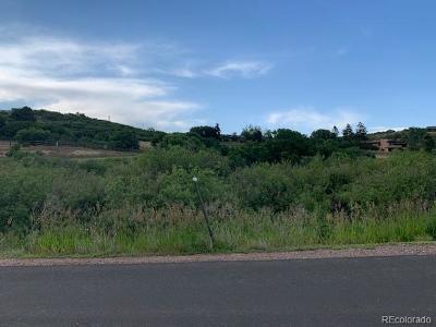 Castle Rock Residential Lots & Land Active: 9544 Sorrel Road