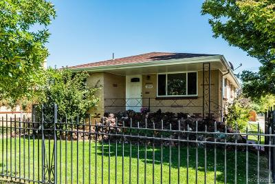 Denver Single Family Home Active: 3700 Mariposa Street
