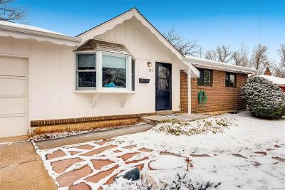Boulder Single Family Home Active: 755 South 43rd Street