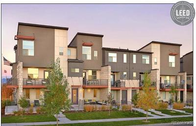 Denver Condo/Townhouse Active: 5674 Galena Street