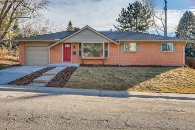 Centennial Single Family Home Active: 8276 East Easter Place
