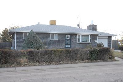 Denver Single Family Home Active: 2880 Cottonwood Drive