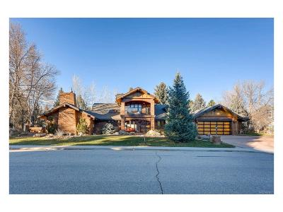 Boulder Single Family Home Under Contract: 7181 Four Rivers Road