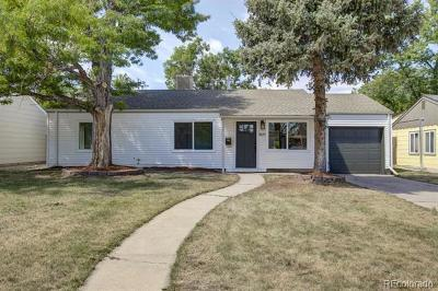 Denver Single Family Home Active: 3025 South Grape Way