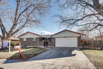 Arvada Single Family Home Active: 7450 Webster Street