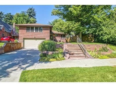 Denver Single Family Home Under Contract: 1665 Holly Street