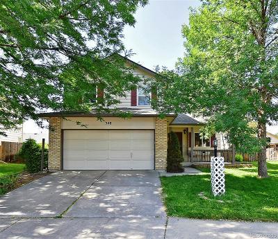 Loveland Single Family Home Active: 348 Sagewood Drive