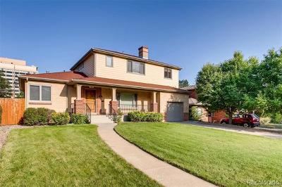 Denver Single Family Home Active: 1424 South Garfield Street